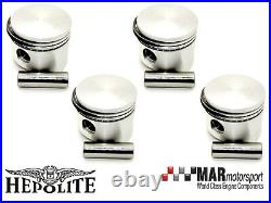 4 x Ford 2.0 OHC Pinto RS 2000 Capri HEPOLITE PISTONS 91.80mm High Comp