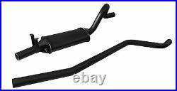 Ford Escort Mk2 OHC Left Hand Exit Single Box RS2000 Sportex 2.5 Exhaust System