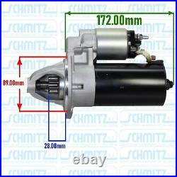 Ford Escort Mk2 Rs2000 2.0 Ohc Pinto Uprated 1.6kw New Starter Motor