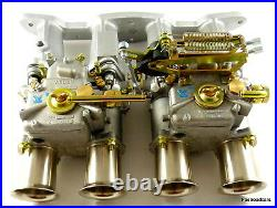 Weber Twin 45 Dcoe Carburettor Kit Ford Cortina 2.0 Ohc Pinto Ready Assembled